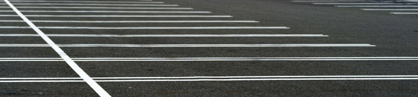 Asphalt Parking Lot Stripes