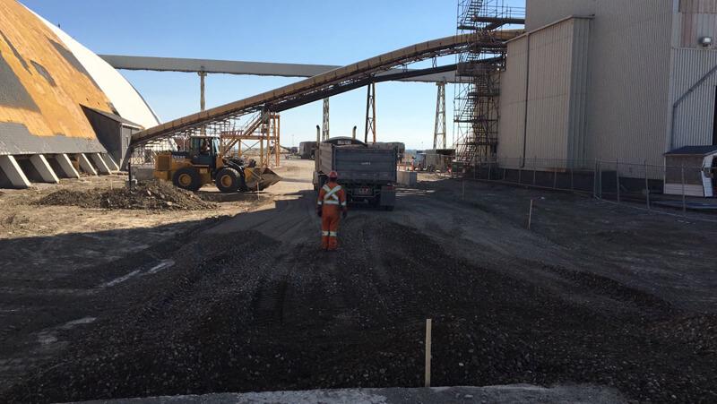 Industrial Paving